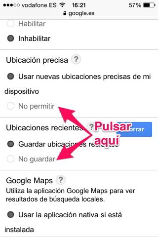 localización en google 3