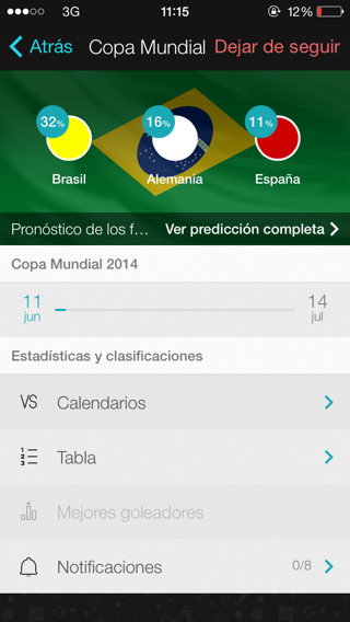 Forza Football notificaciones del mundial