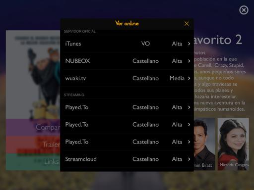 Cómo ver películas en iPad y dispositivos iOS
