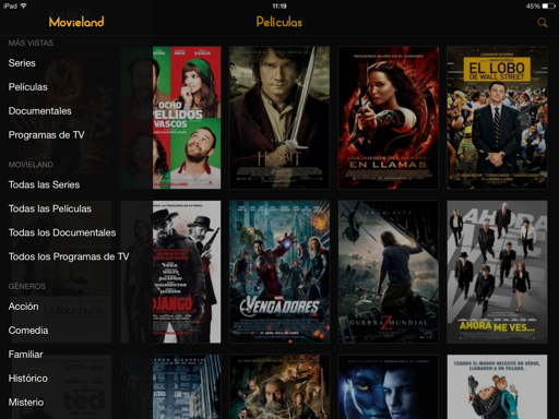 ver películas en iPad, iPhone y iPod TOUCH