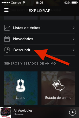 ecualizador de spotify para iPad