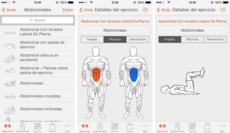 app tablas de ejercicios