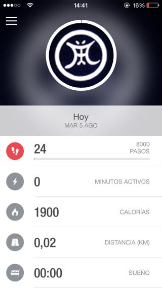 Monitorizar la actividad física