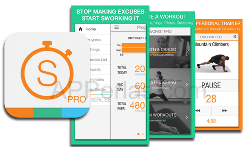 Vídeos de ejercicios físicos con SWORDKIT PRO