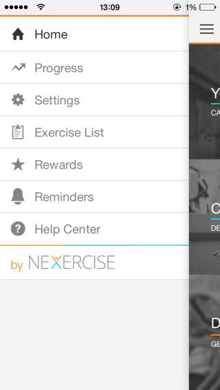 Vídeos de ejercicios para iPad