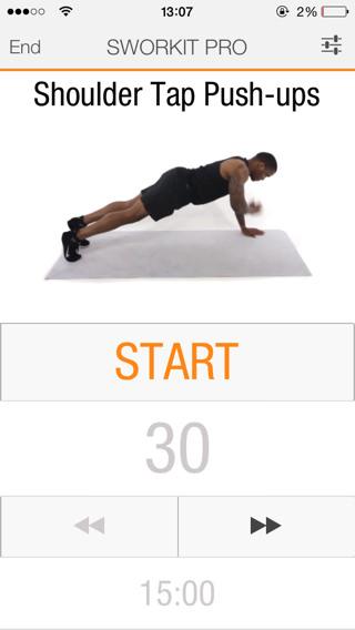 Aplicación iOS vídeos de ejercicios