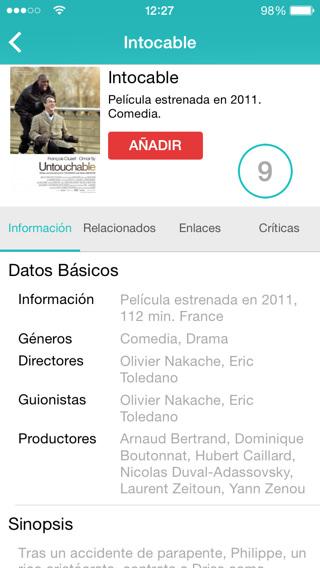 Películas y series ONLINE en iPad