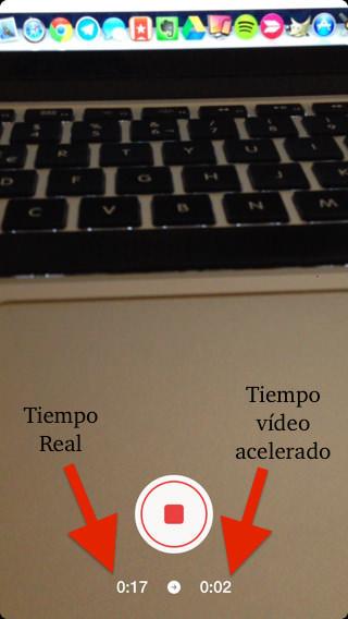 vídeos acelerados para iOS