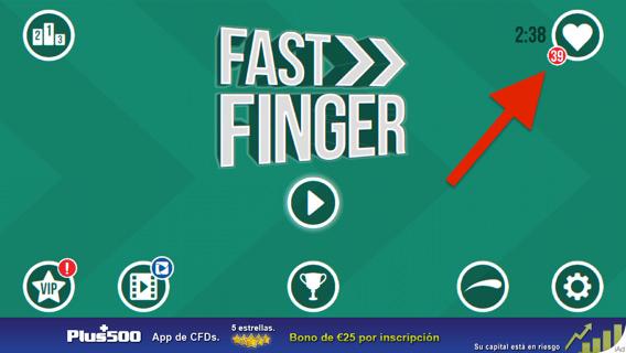 Fast Finger para iPad