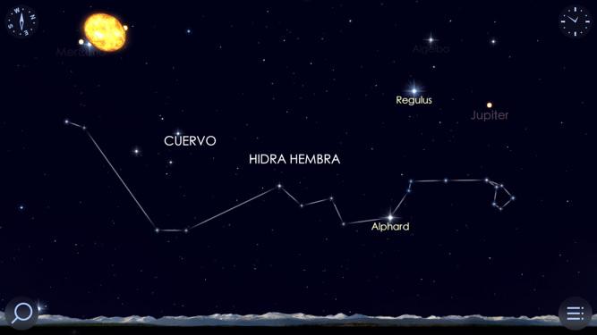 Star Walk app de estrellas, planetas, constelaciones