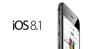 iOS 8.1 iphone