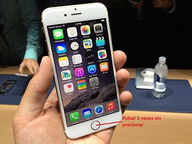 iPhone 6 con una mano 1