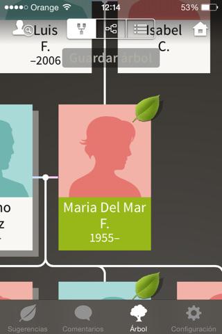 Crea tu árbol genealógico