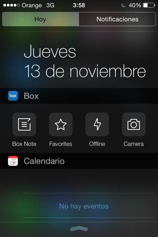 Box widget