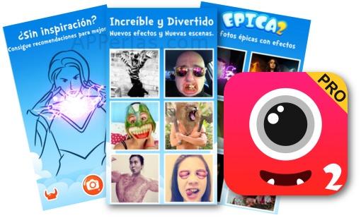 Epica 2 pro app para crear fotos divertidas