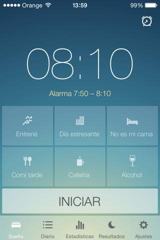 app para analizar el sueño