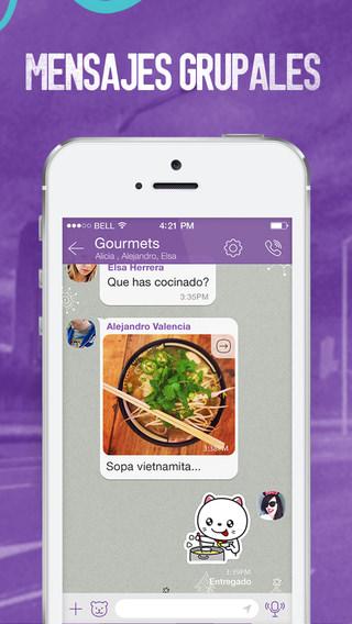Viber 5.1.1 chats públicos
