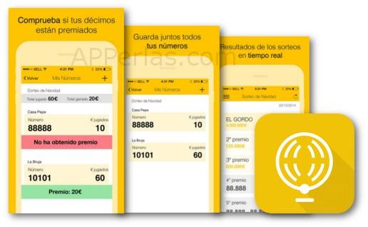 El mundo loterias app para lotería de navidad