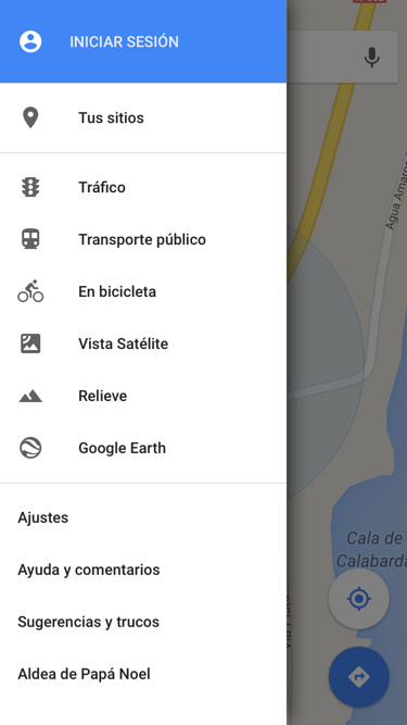 Juego oculto de Google Maps iPhone
