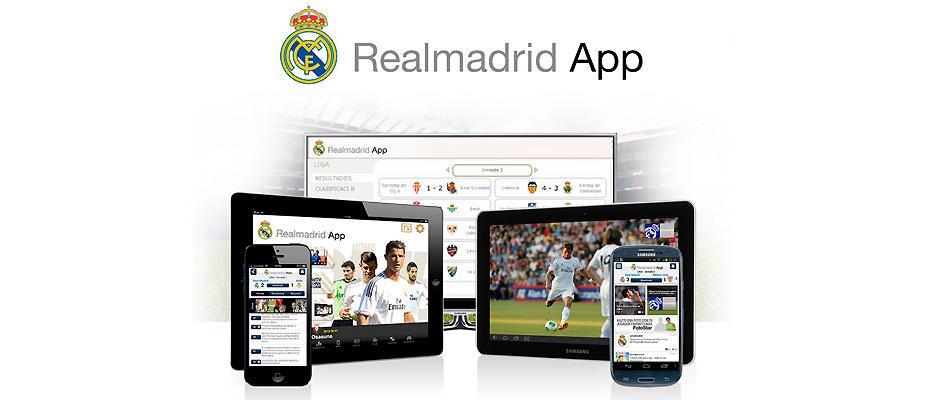 Realmadrid app con Real Madrid TV GRATIS