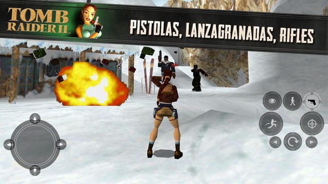 Tomb Raider 2 para iPhone y iPad