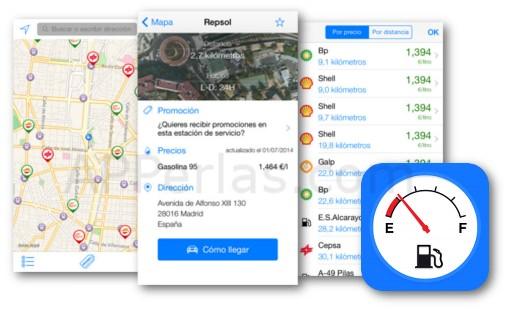 GasAll app de gasolineras