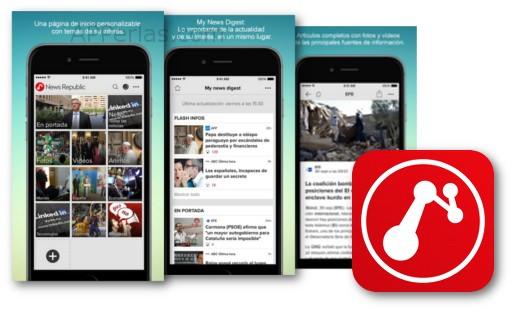 App de noticias de actualidad News Republic