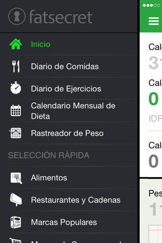 Contador de calorías para iPad
