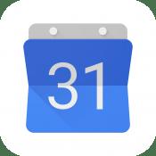 google calendar para iPhone