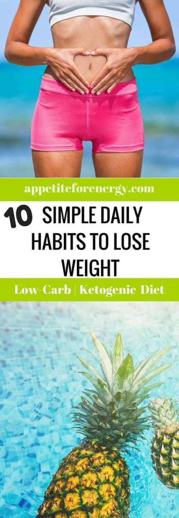 Are your daily habits helping you to achieve your weight loss goals? People who have lost weight and kept it off over many years utilize these DAILY habits. FOLLOW us for more like this. PIN and CLICK through to read! Weight loss| weight loss habits| simple weight loss| guide to losing weight|weight loss plateau|weight loss stall|healthy habits|low carb diet|easy weight loss|get a flat belly|