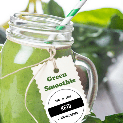 Keto Green Smoothie Snack