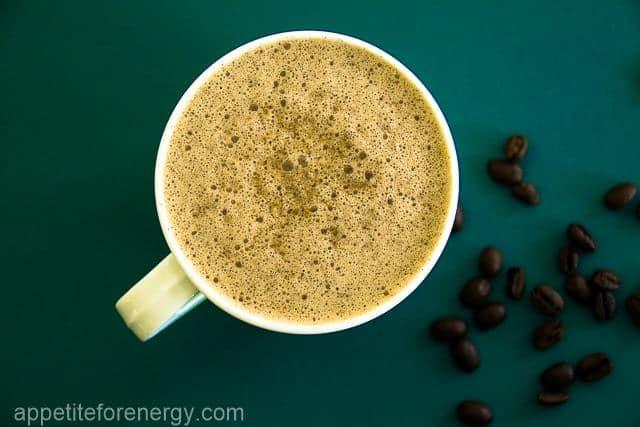 Dairy free bulletproof coffee