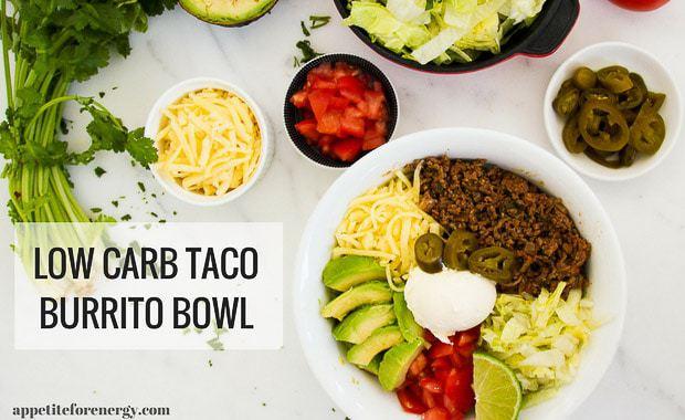30 Minute Low-Carb Taco Burrito Bowl