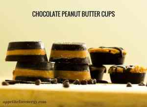 Low-Carb Chocolate Peanut Butter Cups