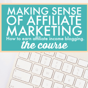 Making Sense of Affiliate Marketing - Recommendations