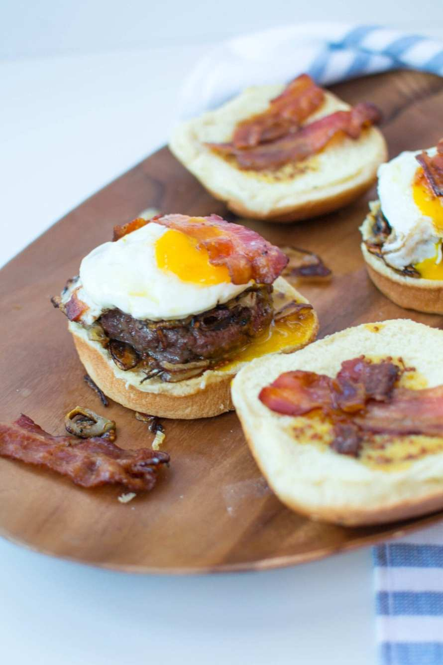 Brunch Burgers with Maple Dijon Aioli | Appetites Anonymous