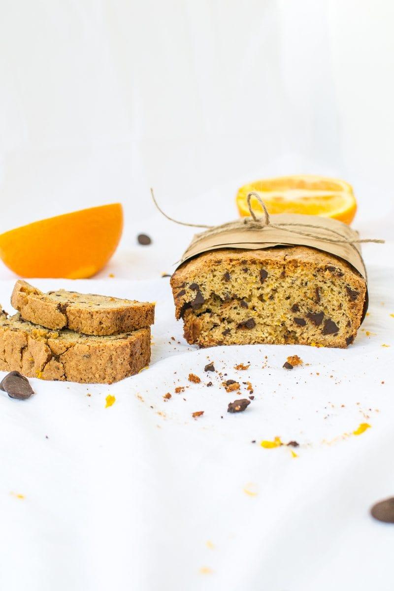 dark chocolate orange quick bread   Appetites Anonymous