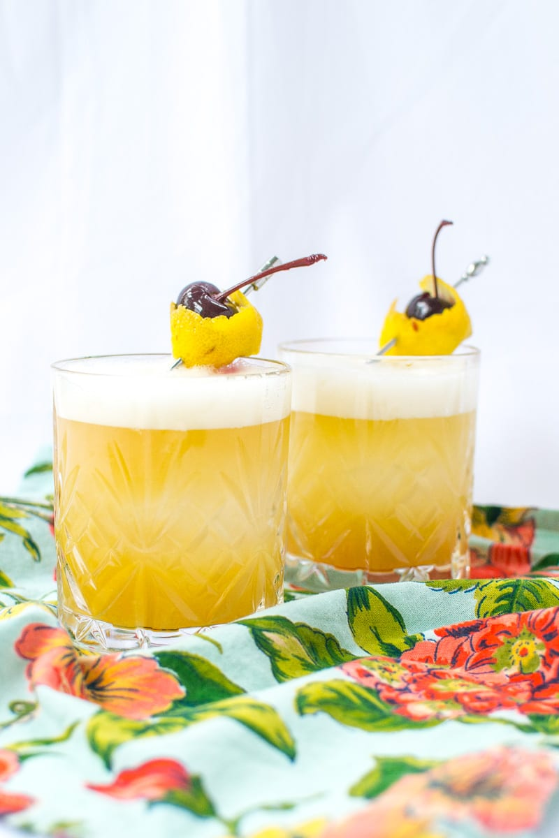 mango whisky sours | Appetites Anonymous