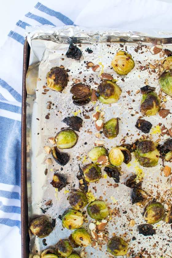 crack brussels sprouts | Appetites Anonymous
