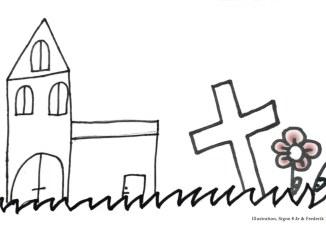 Illustration Josefine fra solsiden