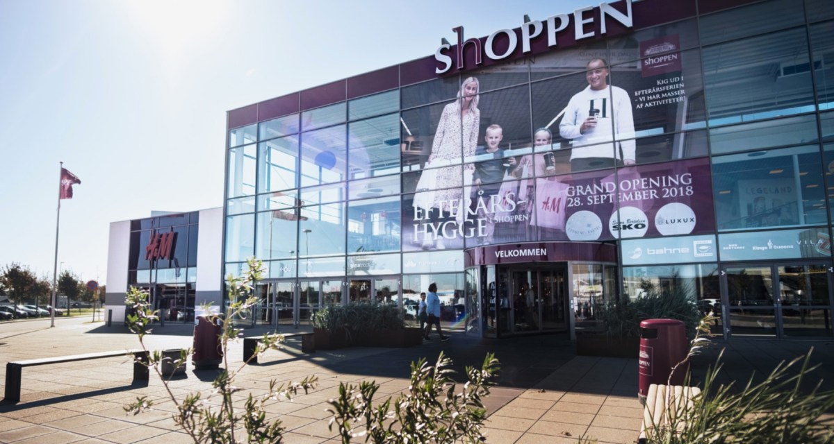 Et shoppingcenter i forvandling