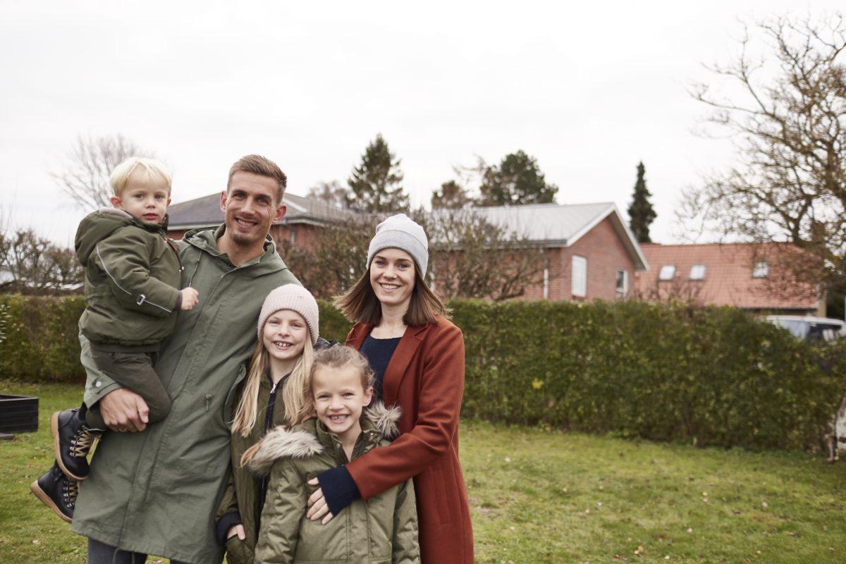 En passion for familien og fodbold