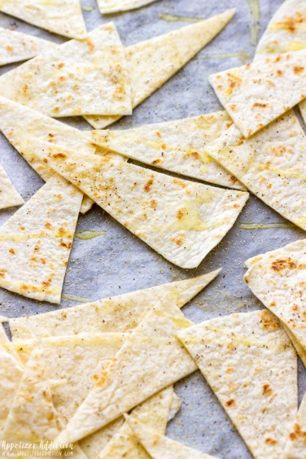 How to make Oven Baked Tortilla Chips Step 2