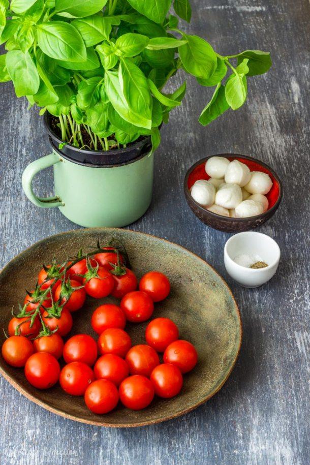 Caprese Salad Bites Ingredients