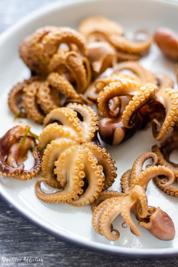Step by Step How to Make Marinated Baby Octopus 3