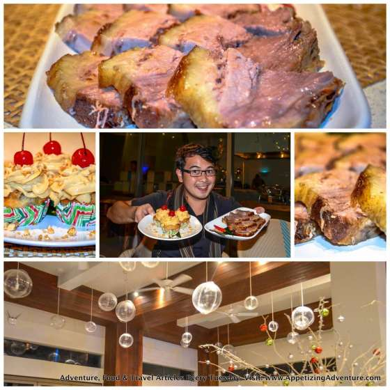 Beach House Dinner Buffet Costa Pacifica Baler Collage
