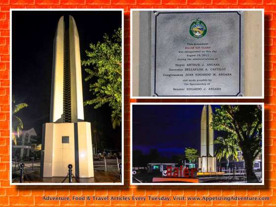 Baler 400 Years Monument Collage