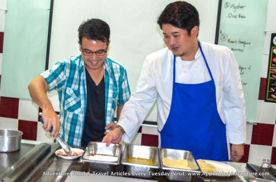 with Chef Paul Samson