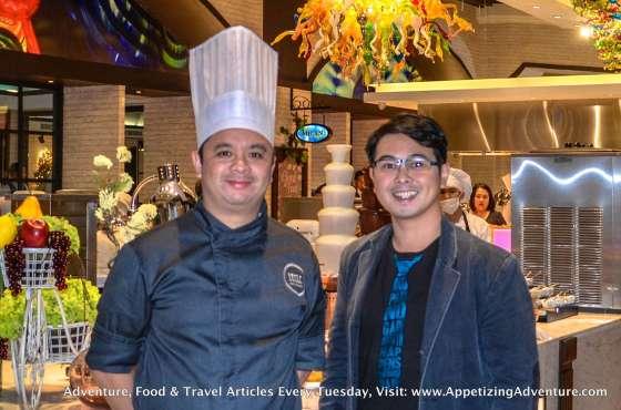 Chef Anton Abad and Carlo Lorenzo