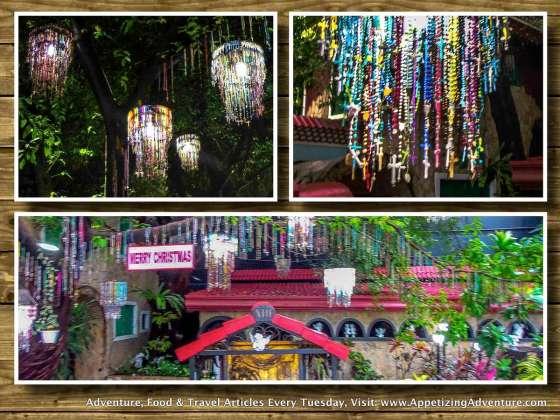 padre pio chapel rosary lanterns